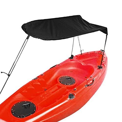 xianghaoshun Toldo Parasol para Kayak, Toldo para Canoa para Bote De Kayak para Una Sola Persona, Toldo para Toldo con Bolsa De Almacenamiento, Configuración Fácil