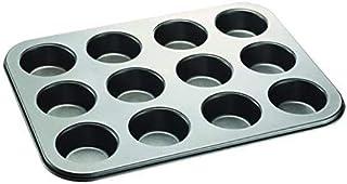 Best Cupcake Baking Pan 12 Cup Non-Stick Muffin Tray Grey Cake Pan