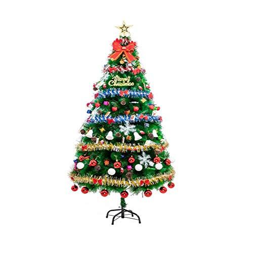 ZHongWei - Corona de Navidad Decoraciones Festivas del árbol de Navidad con...