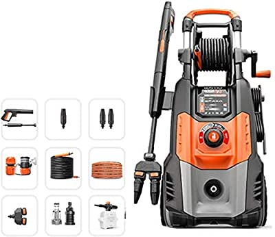 Pressure Washer?2800W 160Bar 810L/H, Portable Washer With Accessories, Pressure Cleaner For Car Patio Yard Driveways dljyy by dljxx