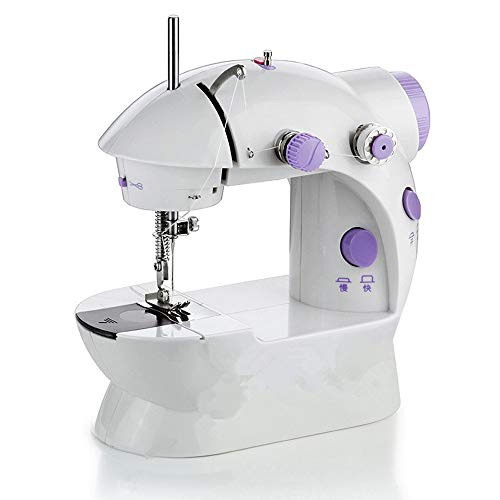 Ctekro Multi-Function Sewing Machine Household Mini Portable Sewing Machine Automatic Threader Perfect For Sewing All Types Of Fabrics Easily