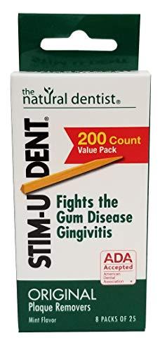 STIM-U-DENT - Plaque Removers, Value Pack, Mint, 8 pk - 25 ea