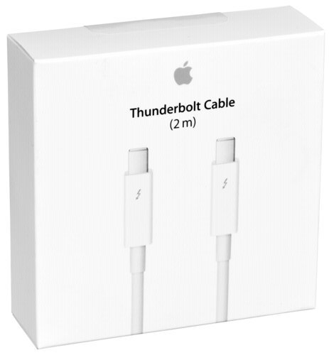 Apple Thunderbolt cable (2.0 m)