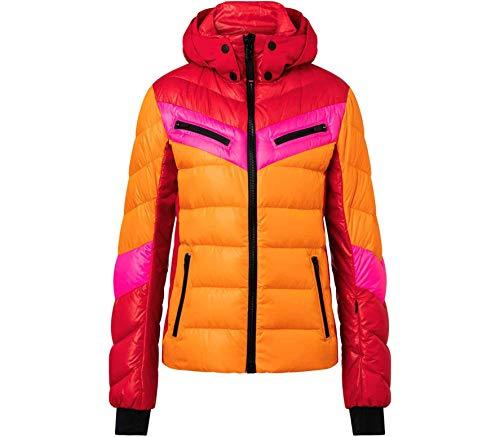 Bogner Fire + Ice Damen Ski Daunenjacke Farina-D mit Kapuze orange (506) 36