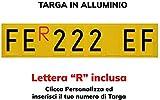TopQuality Targa Ripetitrice in Alluminio per rimorchi, carrelli appendici con Lettere e N...