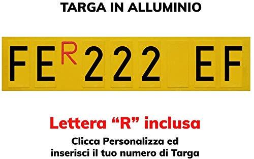 TopQuality Targa Ripetitrice in Alluminio per rimorchi, carrelli appendici con Lettere e Numeri con...
