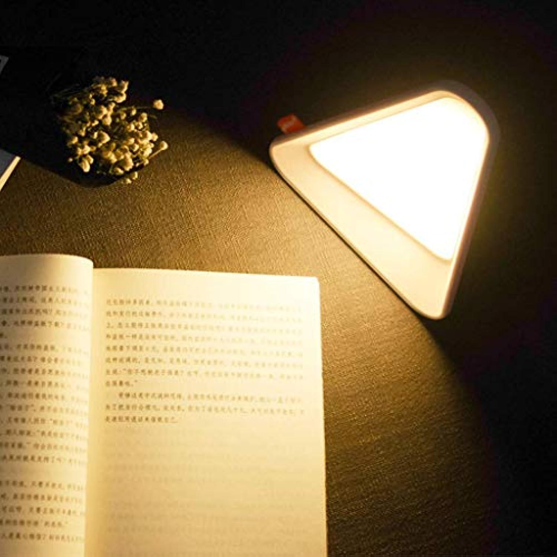PLLP Home Wohnzimmer Schlafzimmer Nachttischdekoration Tischlampe-Touch Nachtlicht Led Flip Tischlampe Nachttischlampe Stimmungslicht Leselicht Einstellbare Helligkeit Usb Wiederaufladbares Licht