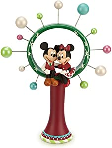 Disney Store Mickey Mouse and Minnie Mouse Christmas Tree Topper