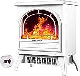 NLRHH Calentador eléctrico de la Chimenea Estufa infrarroja 3D con calefacción de Alambre 2 Engranaje Opcional 1800W Control Remoto Portáaco E E (tamaño: mecánico) 20 (Tamaño: mecánico) Peng