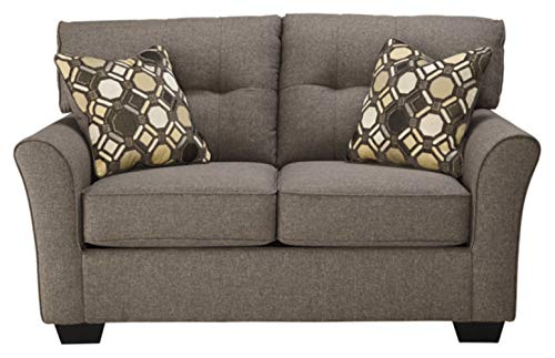 Signature Design by Ashley - Tibbee Contemporary Upholstered Loveseat, Gray