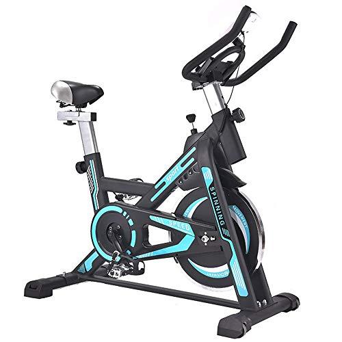 Bicicleta de spinning Bicicleta de ejercicio vertical de Paz Inicio Deportes de bicicleta de ejercicios Rotary ajuste de la resistencia es adecuado for interiores Gimnasio en casa ejercicio aeróbico M