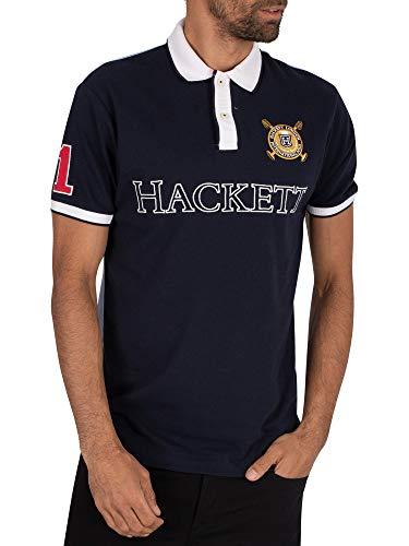 Hackett London de los Hombres Logo Polo, Azul