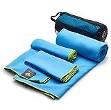OlimpiaFit Microfiber Towels - Quick Dry 3 Size...