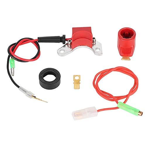 Encendido electrónico, kit de conversión de puntos de encendido electrónico Spark compatible con LUCAS 25D + DM2