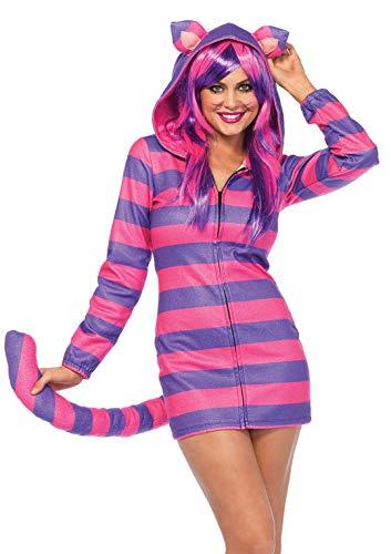Leg Avenue Women's Costume, Pink/Purple, Large