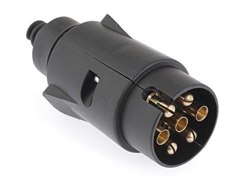 Dino 130077 12V aanhangerstekker 7-polig ISO 1724 type N