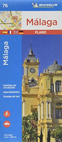 Plano Málaga: City Plans (Planos Michelin)