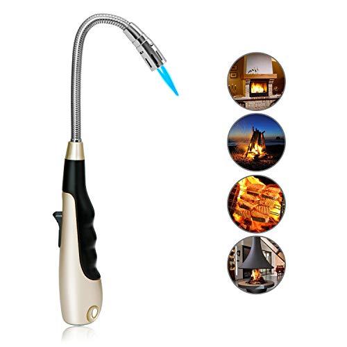 Butane Lighter Long Lighter Refillable Lighter Flexible Grill Lighter for