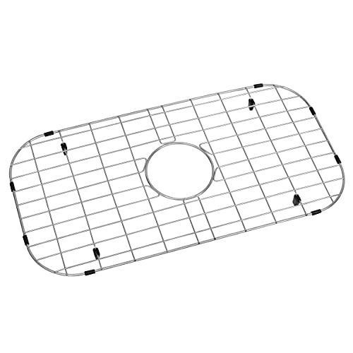 "Zeesink Sink Grid for Bottom of Kitchen Sink,Kitchen Sink Protector Size 25 3/16"" X 13"",Sink Bottom Grid with Center Drain for Single Sink Bowl"