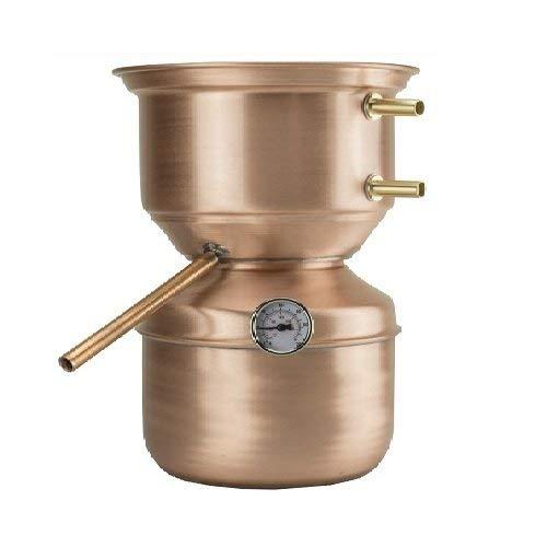 arterameferro Distillatore Alambicco in Rame 3 Litri Modello a Fungo