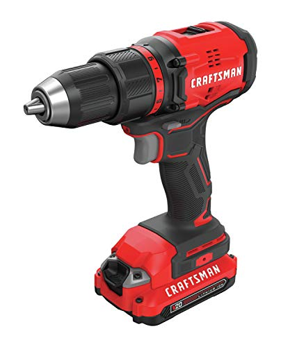 CRAFTSMAN V20 Cordless Drill/Driver Kit, Brushless (CMCD710C2)