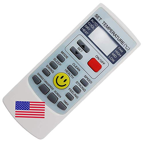 CHOUBENBEN Replacement YK-H/209E YKR-H/209E AUX A/C Remote Controller for Aux Air Conditioner Universal AC Remote Control