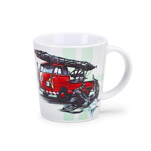 Volkswagen 1H1069601B Tasse, Becher, T1, Feuerwehr Motiv, Limitierte Auflage