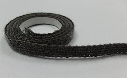 Dichtschnur Dichtband schwarz 25x2mm selbstklebend Ofendichtung