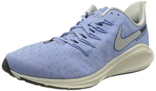 Nike Women's Air Zoom Vomero 14 Running Shoes, Grau (Aluminum/Sail-Black 400), 7 UK
