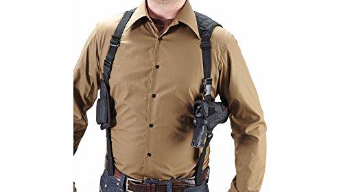 Umarex Unisex– Erwachsene Nylonholster Universal Schulterholster mit Magazin Tasche 2.5777, Schwarz, Uni