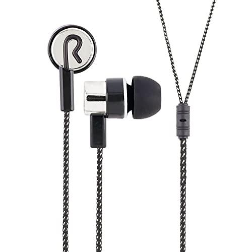 Auriculares Cableado trenzado Bass In Ear Música Auriculares Estéreo Reducción de ruido Auriculares deportivos con micrófono