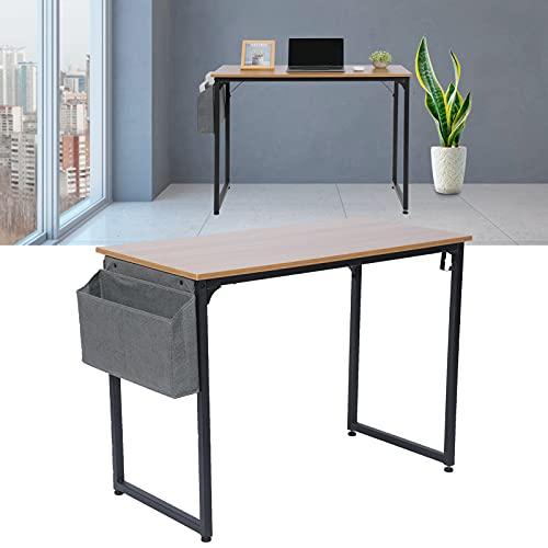 FECAMOS Escritorio de Trabajo Moderno, Exquisito y fácil de Montar Material Premium 100x47x74cm Escritorio de computadora para la habitación de los niños para la Sala de Estar de la Oficina