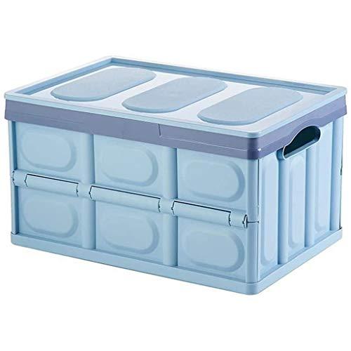HUIXINLIANG Organisateur de stockage de coffre de voiture, Organisateur pliable Boîte de rangement pliable pliable en plastique Facile à transporter polyvalente porte-bacs de rangement portable pour v