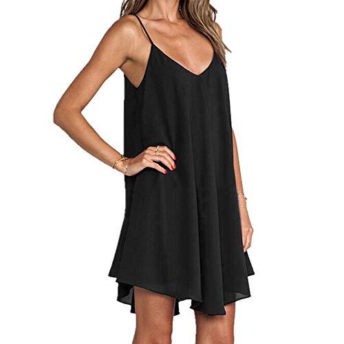 Sleepshirts Sleeveless Sleepwear Lingerie Pijamas Female Nightgowns Nightdress Women Nighties Summer Black
