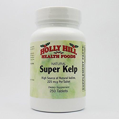 Holly Hill Health Foods, Super Kelp 225 MCG, 250 Tablets