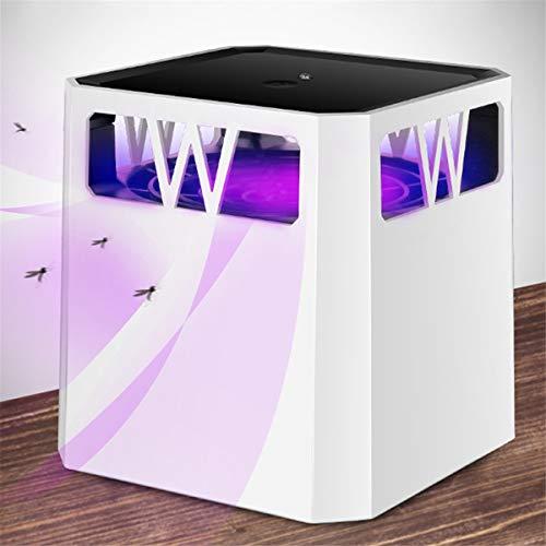 BX.JX Mosquito Killer lamp – Bug Zapper lamp voor insectenval met USB, geïntegreerde ventilator, robuust, zonder chemische producten en stil, voor gebruik binnenshuis