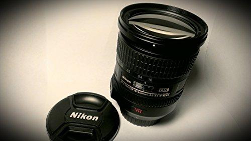 Nikon AF-S DX Nikkor 18-200mm 1:3,5-5,6G ED VR Objektiv (bildstab.) inkl. Gegenlichtblende HB-35