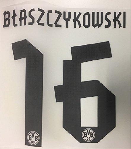 Flock Original BVB Borussia Dortmund Trikot 25cm - BLASZCZYKOWSKI 16
