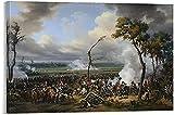 Emile-Jean-Horace Vernet - Die Schlacht von Hanau Leinwand
