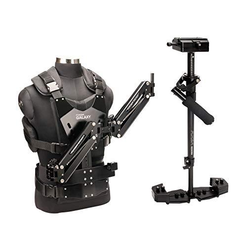 Flycam Galaxy (FLCM-GLXY-RK) Doppelarm & Weste mit Redking Videokamera-Stabilisator Profi-Stabilisierungssystem