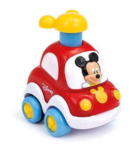 Clementoni 14392 Disney Voitures Press & Go - Couleurs assorties