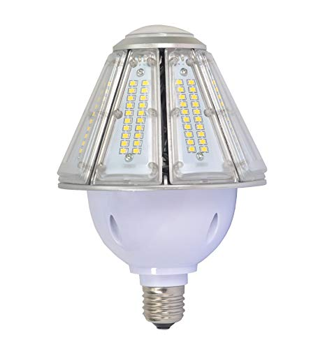 LED Corn Light Bulb 50w,5000k Daylight Cone Led Garage Bulbs,E26 Led Garage Lights Replacement 300W Metal Halide,for Led Canopy Warehouse Post Top Wall Lantern (50)