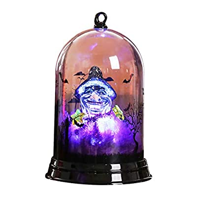Akabsh Halloween Decorative Lights, Happy Small Lampshade Pumpkin Decoration Home Furnishing