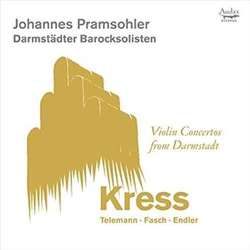 Violin Concertos from Darmstadt