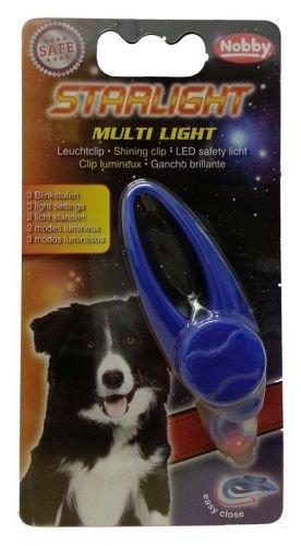 Nobby Leuchtclip MULTI LIGHT für Halsbänder