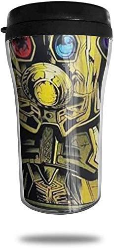 centimeter_ Kaffeebecher Ir-on_M-an Hand doppelwandiger Vakuum-Reisebecher mit Deckel 8,5 oz