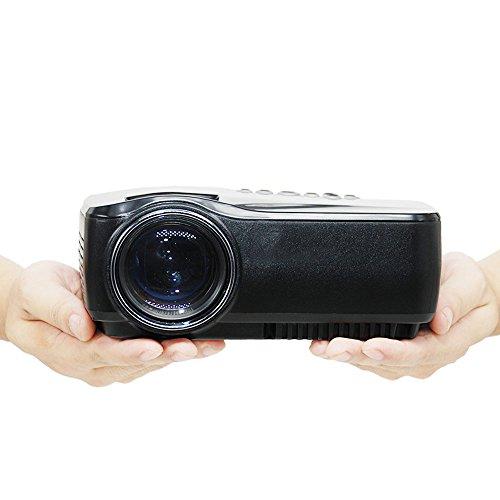 Proyector G4. Proyector LED de video de 1200 lúmenes, soporta una resolución 1080P con HDMI, El Proyector Cine En Casa, Proyector Digital LCD de películas en HD