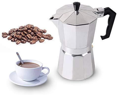 AJH Macchina da caffè, Caffettiere Homeleader Caffettiera Italiana Top Moka Espresso Caffettiera Caffettiera 12 Tazze Macchina da caffè per Ufficio Domestico