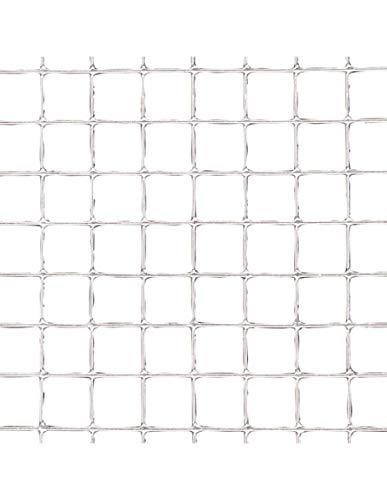 Papillon 1201210 – Maille electrosoldada galvanisée 6 x 6/80 cm, rouleau 25 mètres, utilisation pour la maison