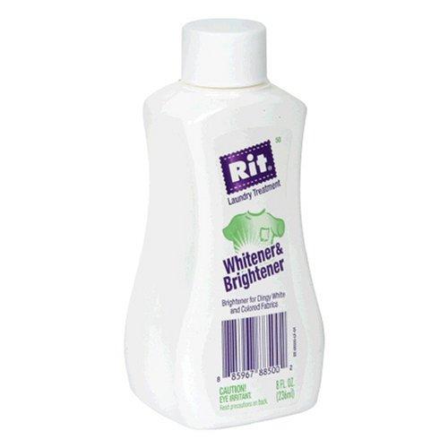 Rit Laundry Treatment Whitener & Brightener , 8-Ounce Bottles (Pack of 3) (Pack of 3)